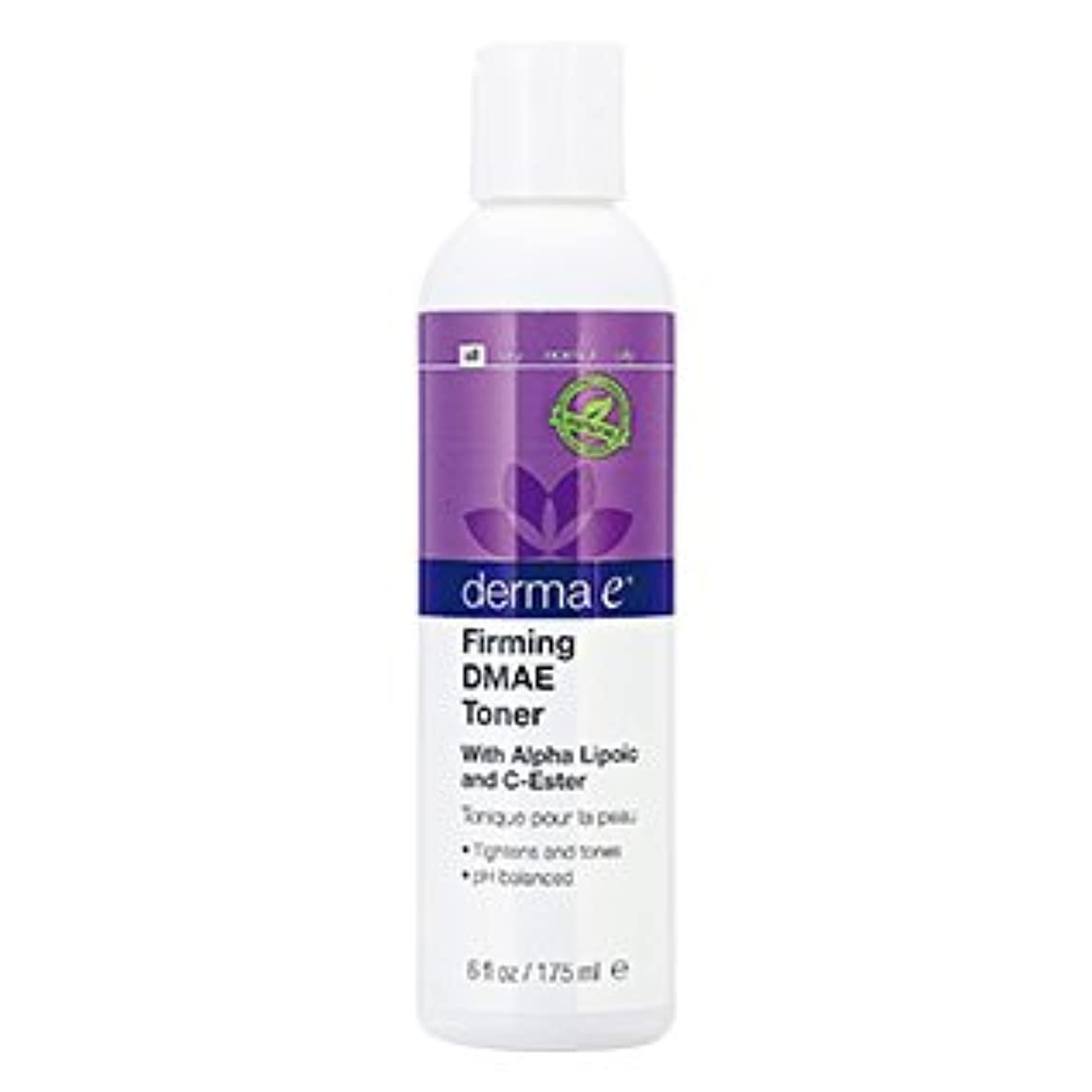 アスペクトまろやかな外出ダーマE(Derma E) DMAE アルファリポ酸 Cエスター ファーミングフェイシャルトナー 175ml [海外直送][並行輸入品]