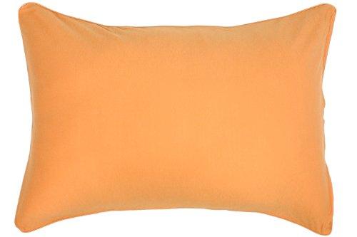 メリーナイト(Merry Night) 綿100% ニット素材 枕カバー 43×63cm オレンジ ...