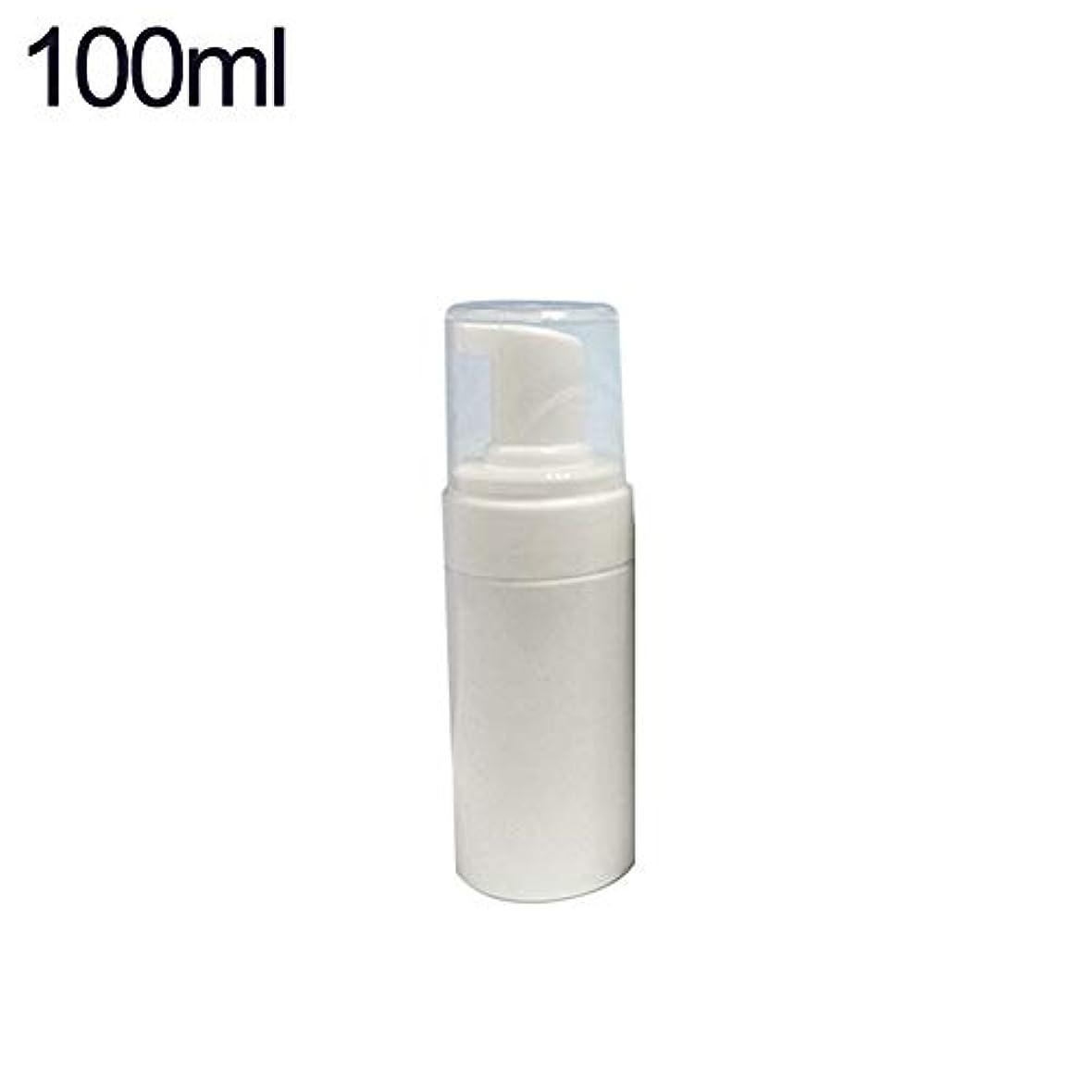 悩むささやき電話するhamulekfae-化粧品綺麗100/120/150 / 200ml泡ポンプ空発泡ボトルソープムース液体ディスペンサー - 100ml
