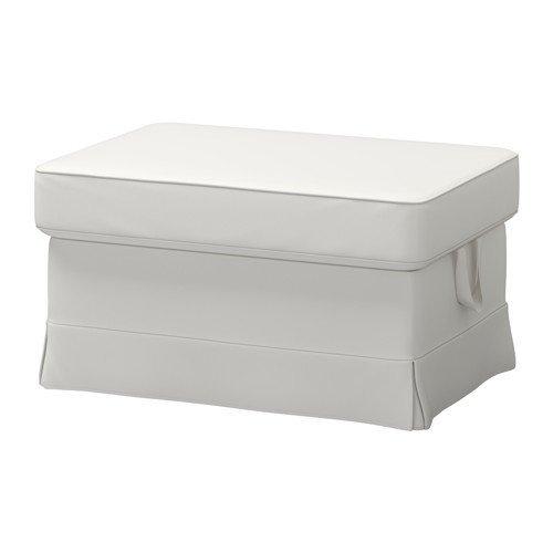 IKEA(イケア) EKTORP フットスツール, ヴィッタリード ホワイト (49129129) (491.291.29)