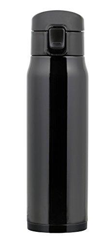 パール金属 水筒 ワンタッチ 直飲み マグ 500ml キャビア ブラック 黒 HB-3912