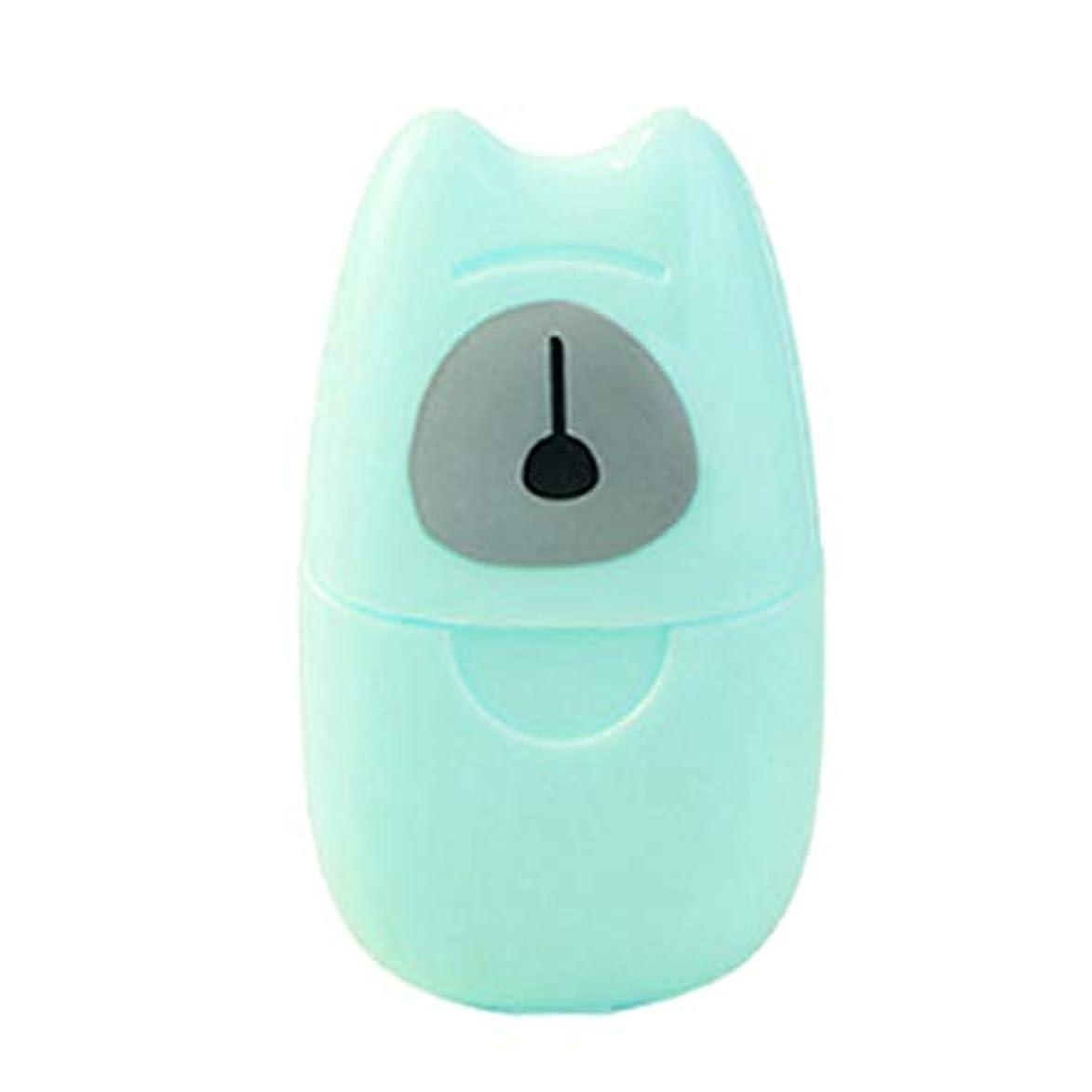 Geafos ペーパーソープ 紙せっけん 石鹸シート 除菌 香り 超軽量 持ち運び 手洗い 携帯便利 ケース付き お風呂 お出かけ 旅行 3個セット