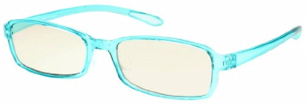 みエクステント魅力的であることへのアピールエニックス 老眼鏡 ブルーライトカット +1.0 度数 スウィートアイ スカイブルー スカイ SE01SKY+1.00