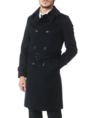 (マッキントッシュ) MACKINTOSH [秋冬] ウール100% ロング トレンチ コート ネイビー / 48