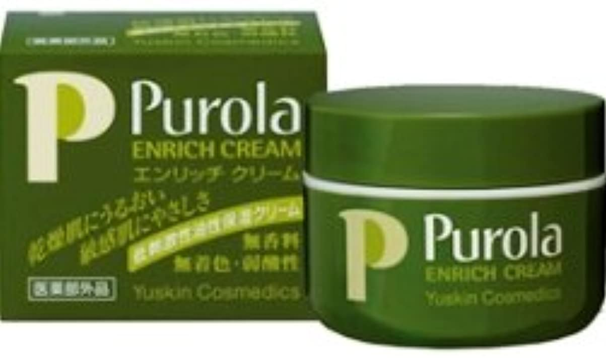 溝釈義三番ユースキン プローラ薬用エンリッチクリーム[低刺激性油性保湿クリーム] 67g 2個