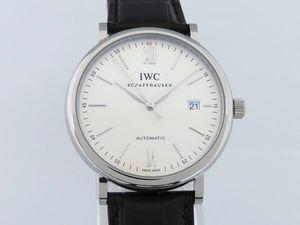 アイ・ダブリュ・シー ポートフィノ オートマティック IW356501 ホワイト文字盤 メンズ 腕時計 新品 [並行輸入品]