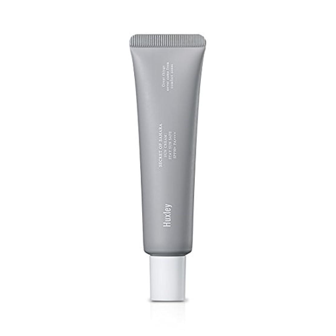 放散する筋肉の切断するHuxley Sun Cream;Stay Sun Safe 35ml (SPF50+ PA++++)/ハクスリー サンクリーム;ステイ サン セーフ 35ml (SPF50+ PA++++) [並行輸入品]