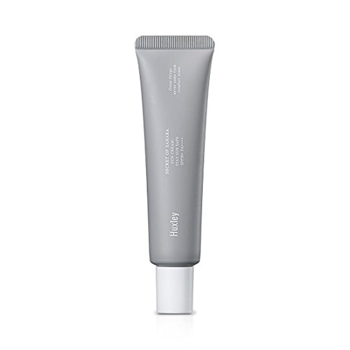 ポルノ省略する遅いHuxley Sun Cream;Stay Sun Safe 35ml (SPF50+ PA++++)/ハクスリー サンクリーム;ステイ サン セーフ 35ml (SPF50+ PA++++) [並行輸入品]