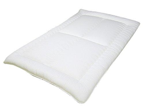 洗える敷き布団 ダブル [四つ折りタイプ] インビスタ社ダクロン(R)ホロフィル(R)中綿使用