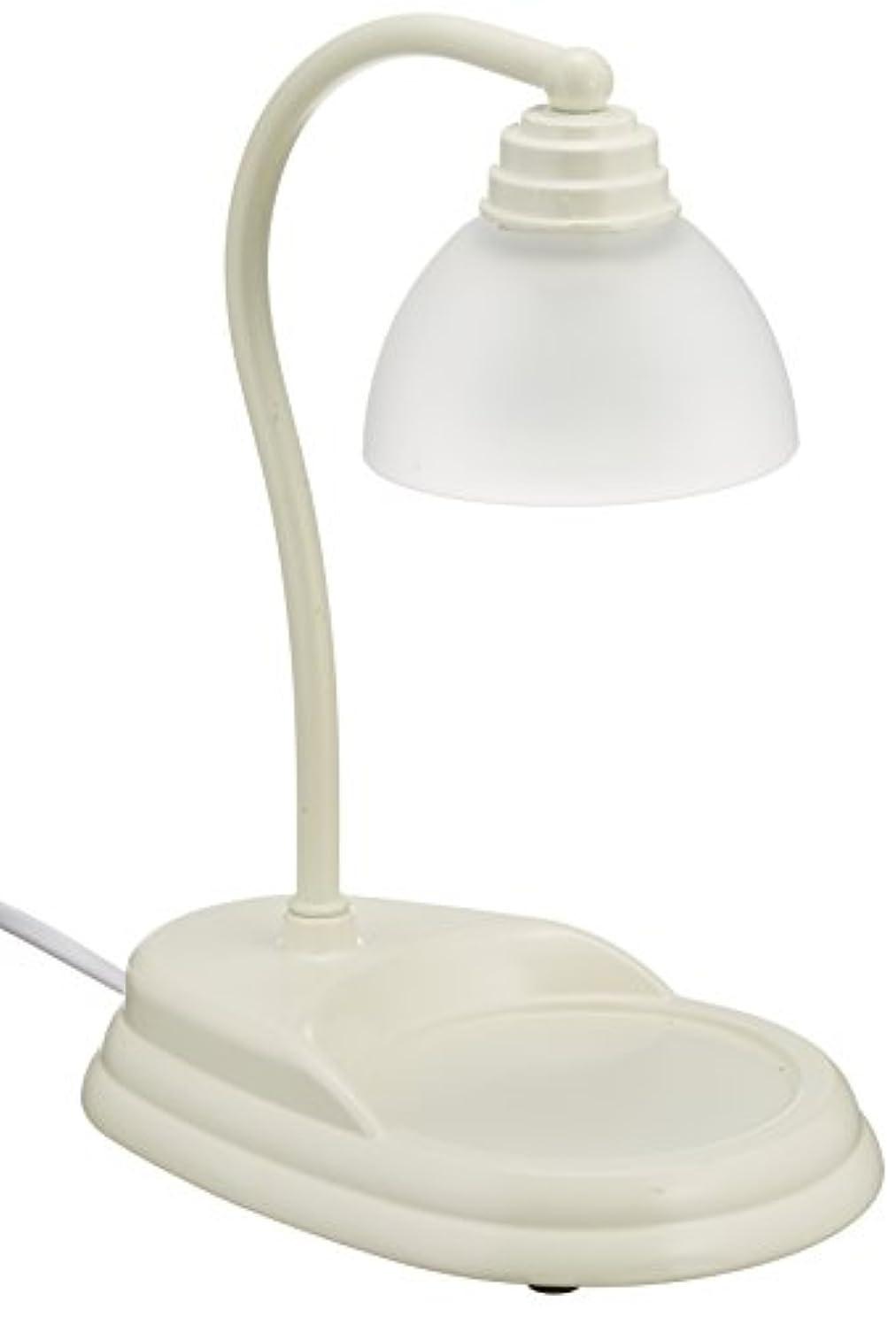 エイリアス勃起おなじみの電球の熱でキャンドルを溶かして香りを楽しむ電気スタンド キャンドルウォーマーランプ (ホワイト)