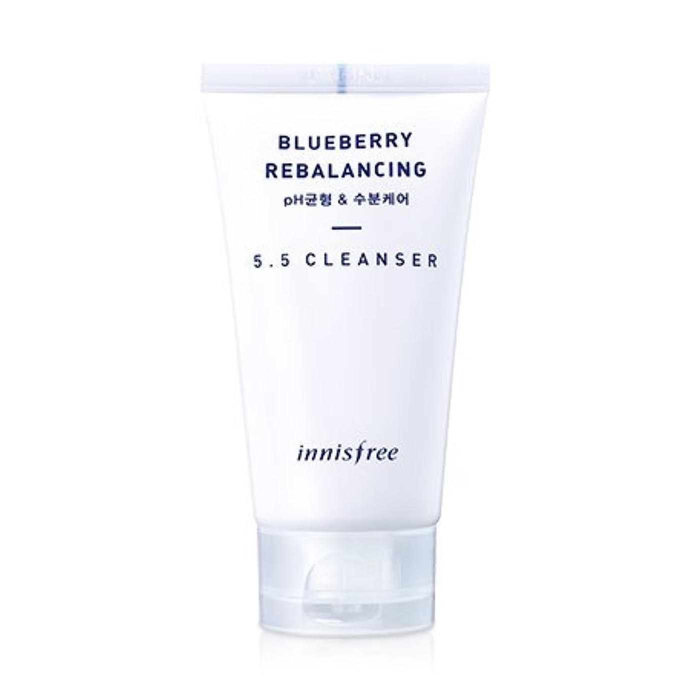 襲撃賃金最大[innisfree(イニスフリー)] Super food_ Blueberry rebalancing 5.5 cleanser (100ml) スーパーフード_ブルーベリーリベルロンシン5.5のクレンザー [並行輸入品...