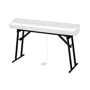 カシオ 電子ピアノ プリヴィア PX-160/150対応 折りたたみ式スタンド CS-53P ブラック