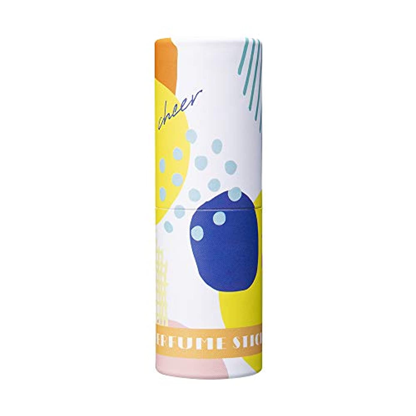 かどうかカップ寺院パフュームスティック チアー シトラス&シャボンの香り オリジナルデザイン 5g