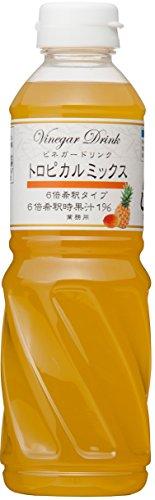 キユーピー ビネガードリンク トロピカルミックス 500ml