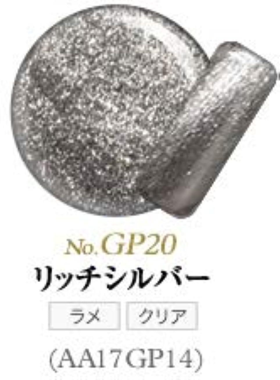 敵反射毛布サンディング不要 ふき取り不要 リムーバー不要 オフはペロンと剥がすだけ 未経験者向けのオールインワンジェル シンデレラピールオフジェル (GP20 リッチシルバー)