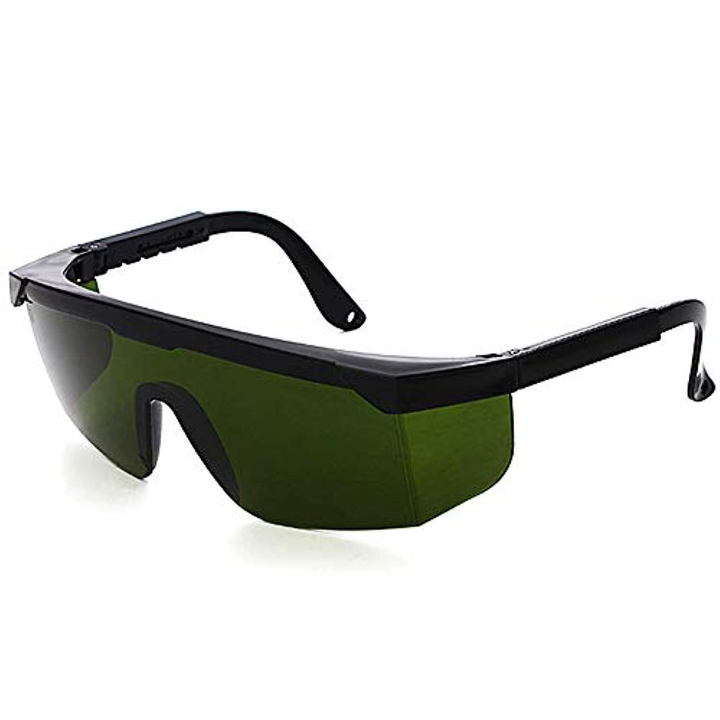 合併症嫌悪インフラレーザー保護メガネIPL美容機器メガネ、レーザーメガネ - 2組のパルス光保護メガネ。