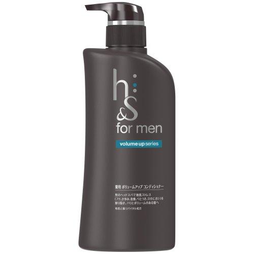 h&s for men ボリュームアップシリーズ 薬用コンディショナー 520g