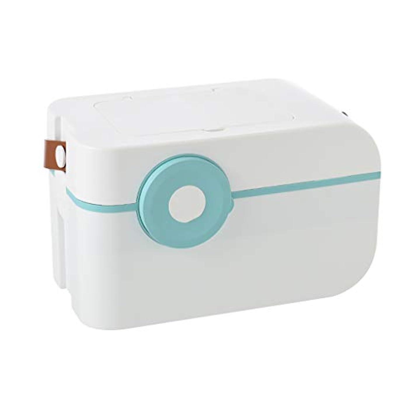 ダーツ提供脳応急処置容器ビン、家族用緊急キット収納ボックス/ケース。