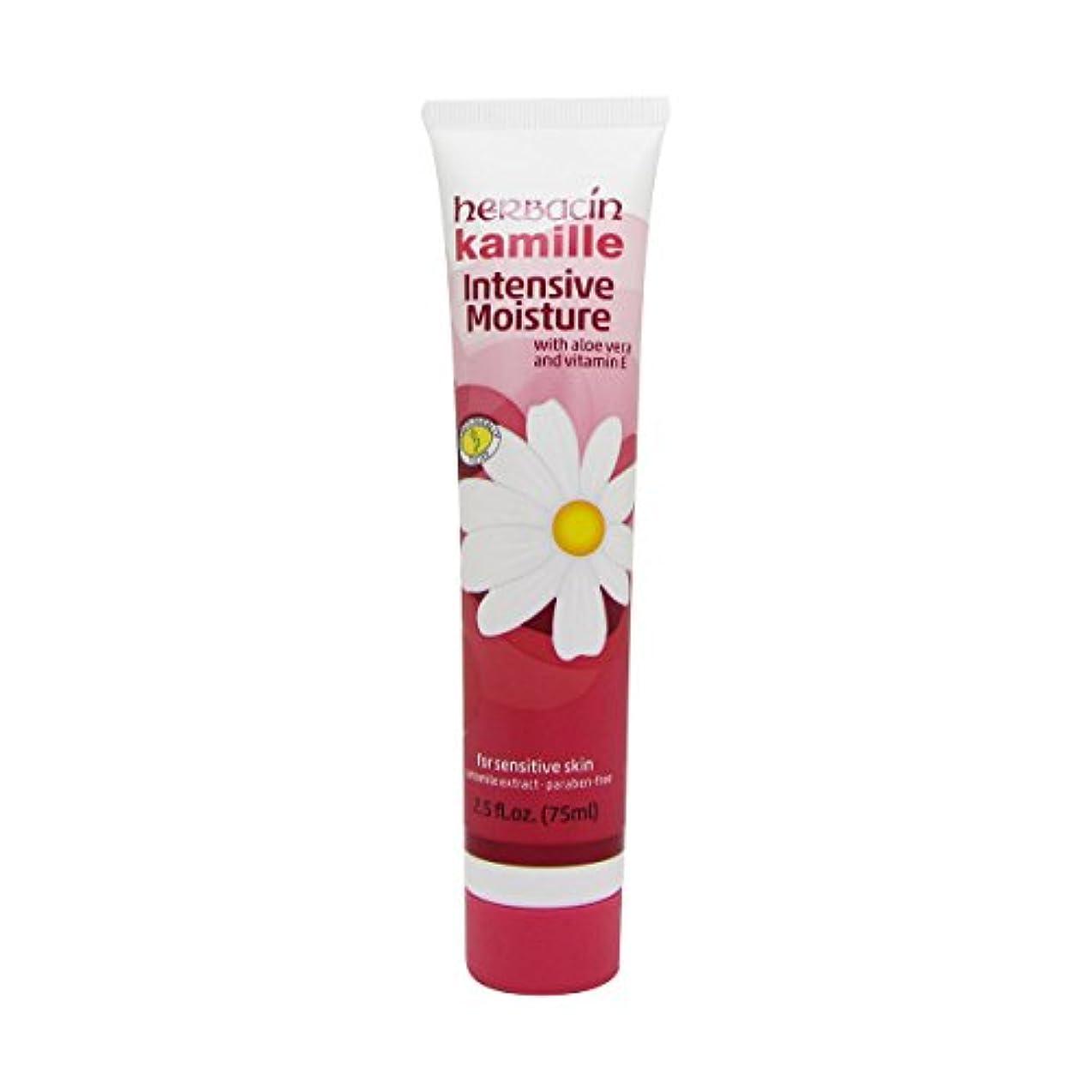 翻訳者チェリー安定Herbacin Wuta Kamille Skin Care Cream Tube 75ml [並行輸入品]