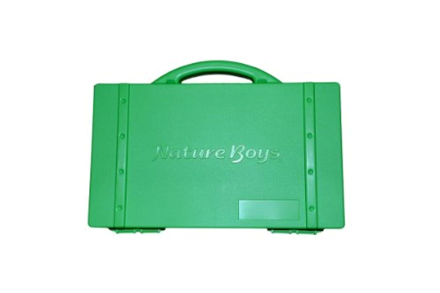 バックアップ旋律的スリチンモイNature Boys(ネイチャーボーイズ) ルアーボックス リサイクルルアーボックス  グリーン