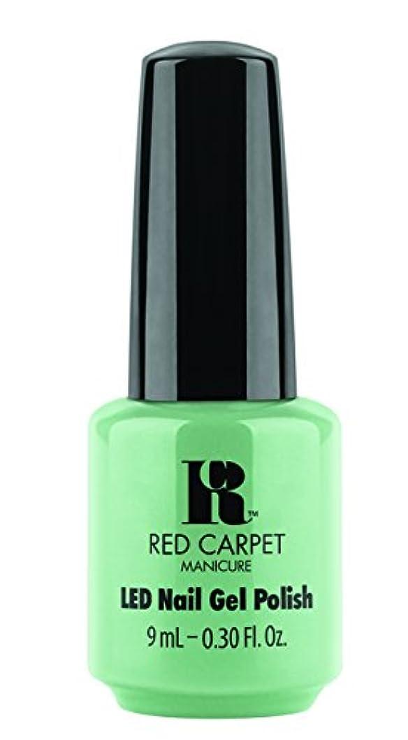 叫び声精査する防腐剤Red Carpet Manicure - LED Nail Gel Polish - Santorini Martini - 0.3oz/9ml