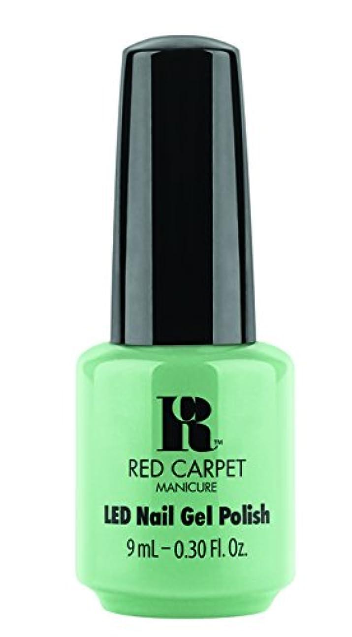 明日時計回り単調なRed Carpet Manicure - LED Nail Gel Polish - Santorini Martini - 0.3oz/9ml