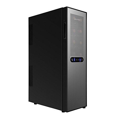 BESTEK ワインセラー 16本収納 2室個別温度設定可能...