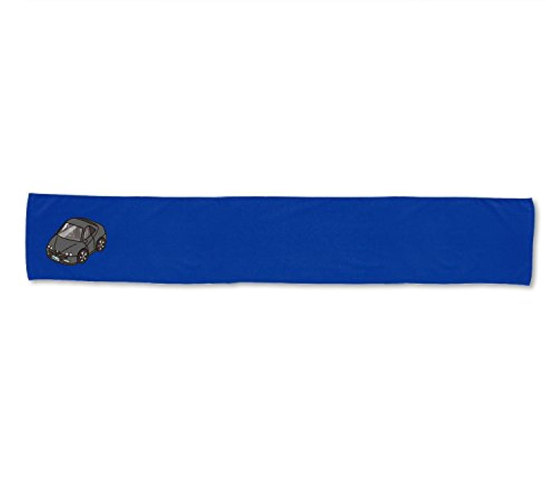 MKJP カスタムタオル アルファロメオ GTV-916 タオル:(青)ブルー