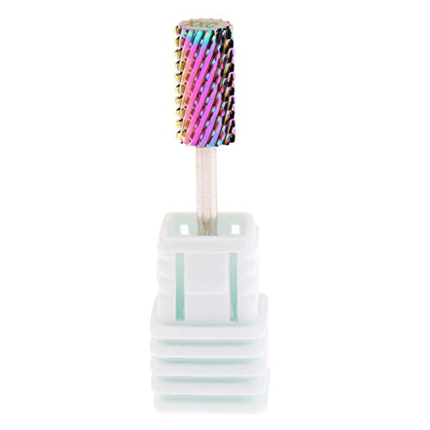 骨の折れる役職拡大するプロバリ電気ネイルドリルビット炭化タングステンダイヤモンドヘッドマニキュアツール - 3XC