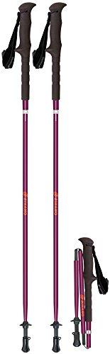 シナノ(SINANO) 登山 トレッキングポール 超軽量コンパクト 長さ調節機能付き フォルダーFREE 115 ボルドー 113416