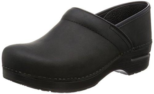 [ダンスコ]dansko フラットシューズ Professional 206,020202 Black Oiled (ブラック/37