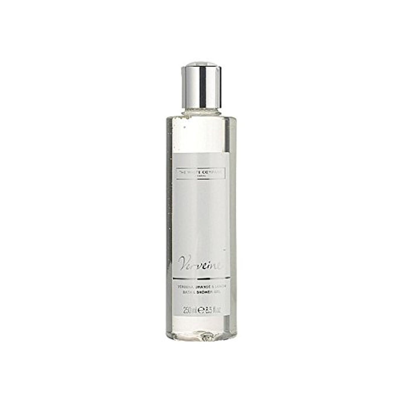 クレデンシャル温室フローThe White Company Verveine Bath & Shower Gel - バス&シャワージェル白会社 [並行輸入品]