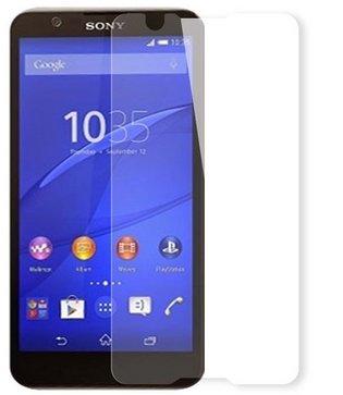 ソニー Sony Xperia E4専用 指紋防止 気泡が消える液晶保護フィルム 光沢タイプ クリアーシール「522-0058-01」