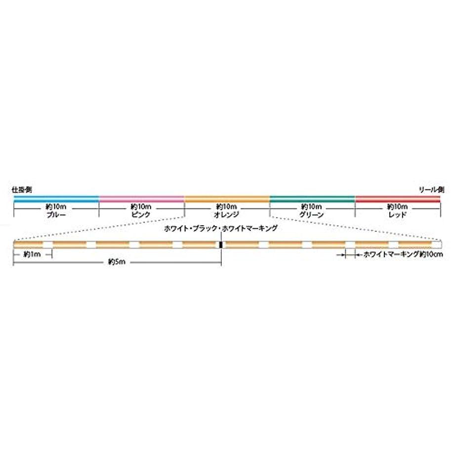 より良いクライマックス初期のSIGLON PE ×8 100m 6号 マルチカラー(連結)