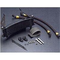 アールズ:サーモスタット組込用 ラウンドオイルクーラー/#6 9-13R BK / カラー:ブラック