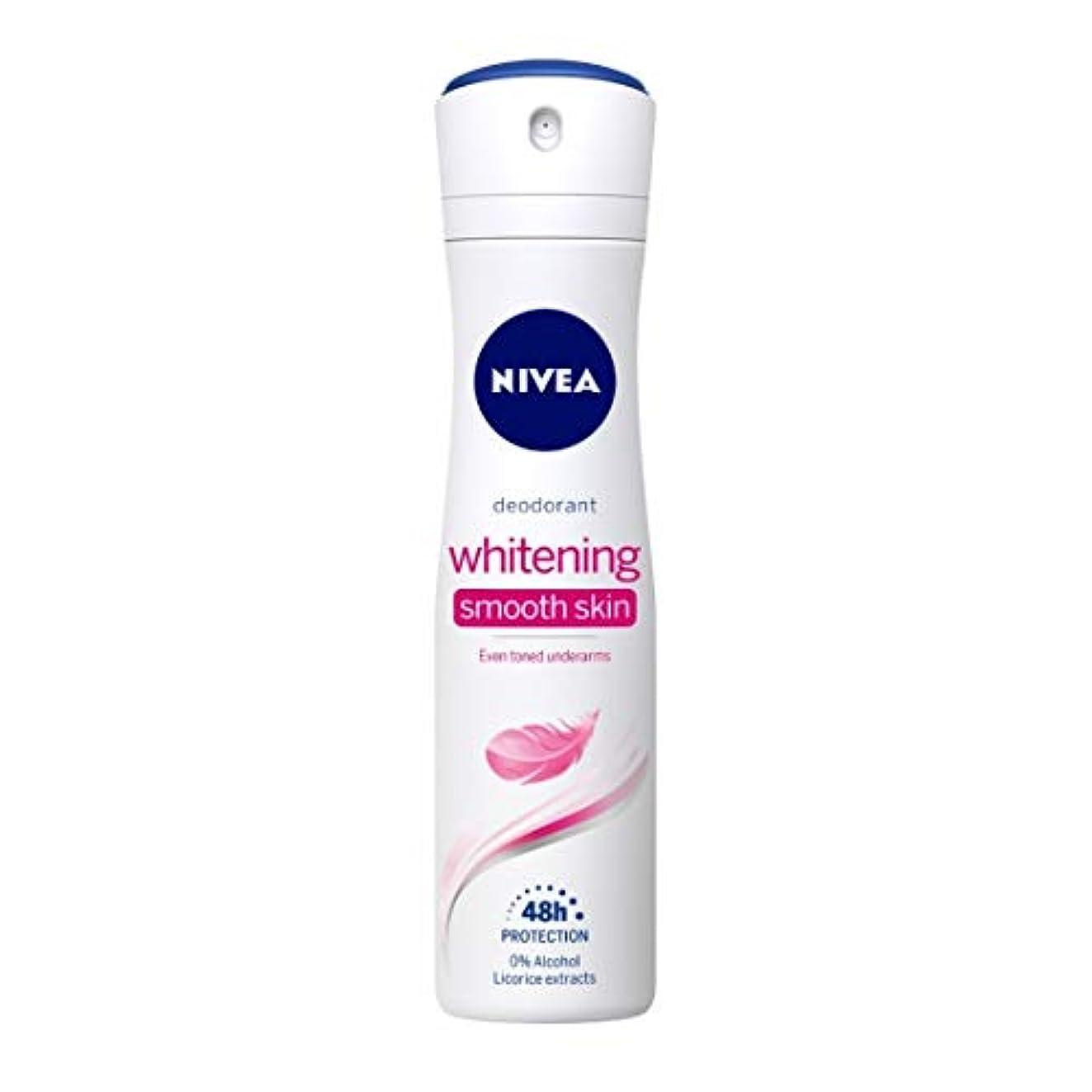 拡声器告白する金曜日Nivea Whitening Smooth Skin Deodorant, 150ml(Ship from India)