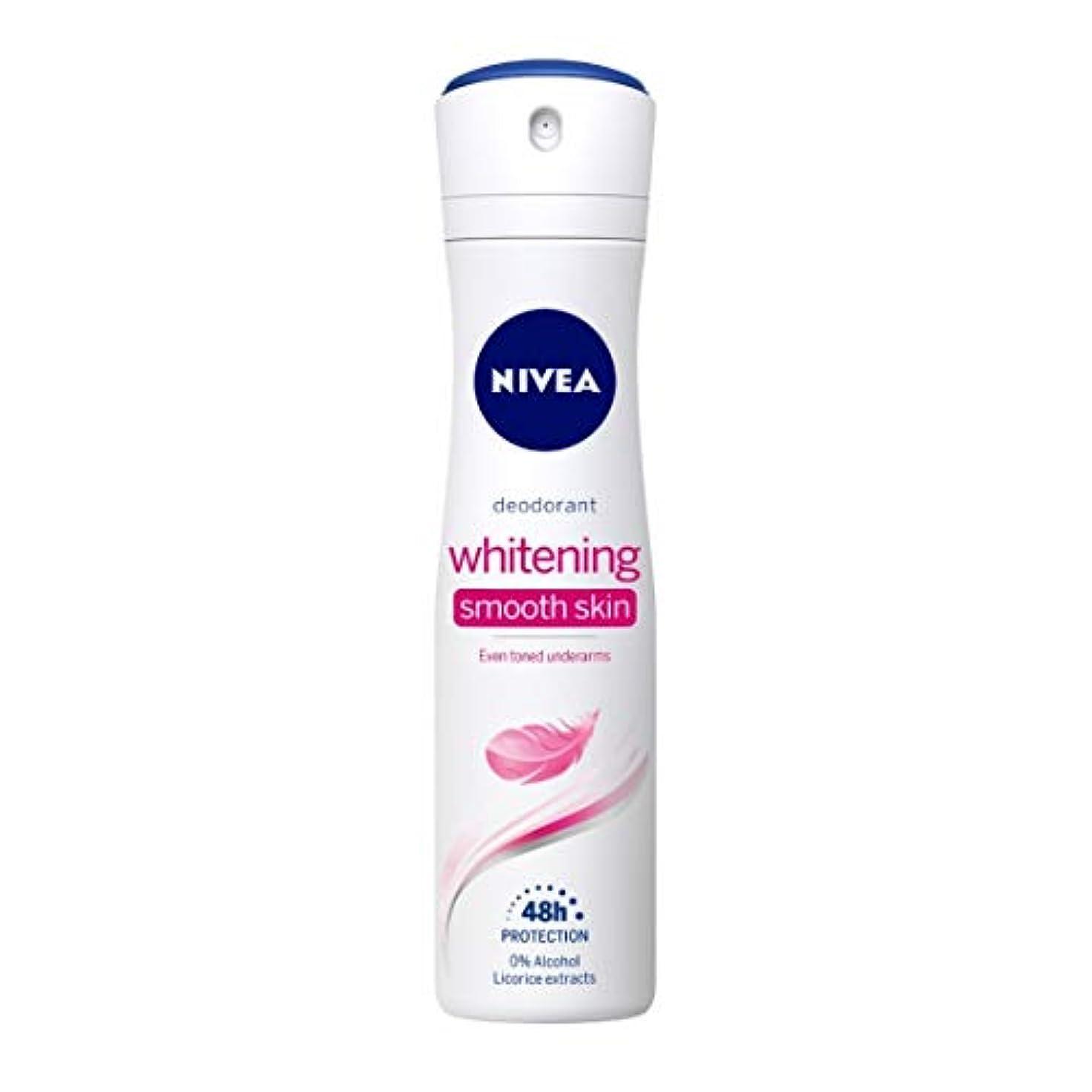 お金ゴム鋭く意識Nivea Whitening Smooth Skin Deodorant, 150ml(Ship from India)