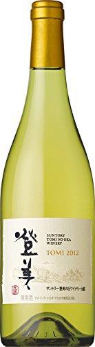 日本ワイン 登美の丘ワイナリー 登美 白 2012 750ml
