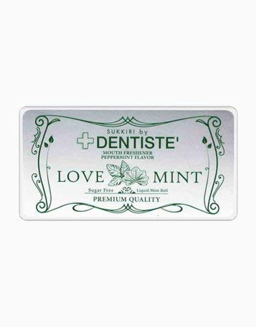 なしで必要シビック(デンティス) DENTISTE 口臭ケア カプセル 「LOVE MINT」 シュガーフリー デオドラント錠