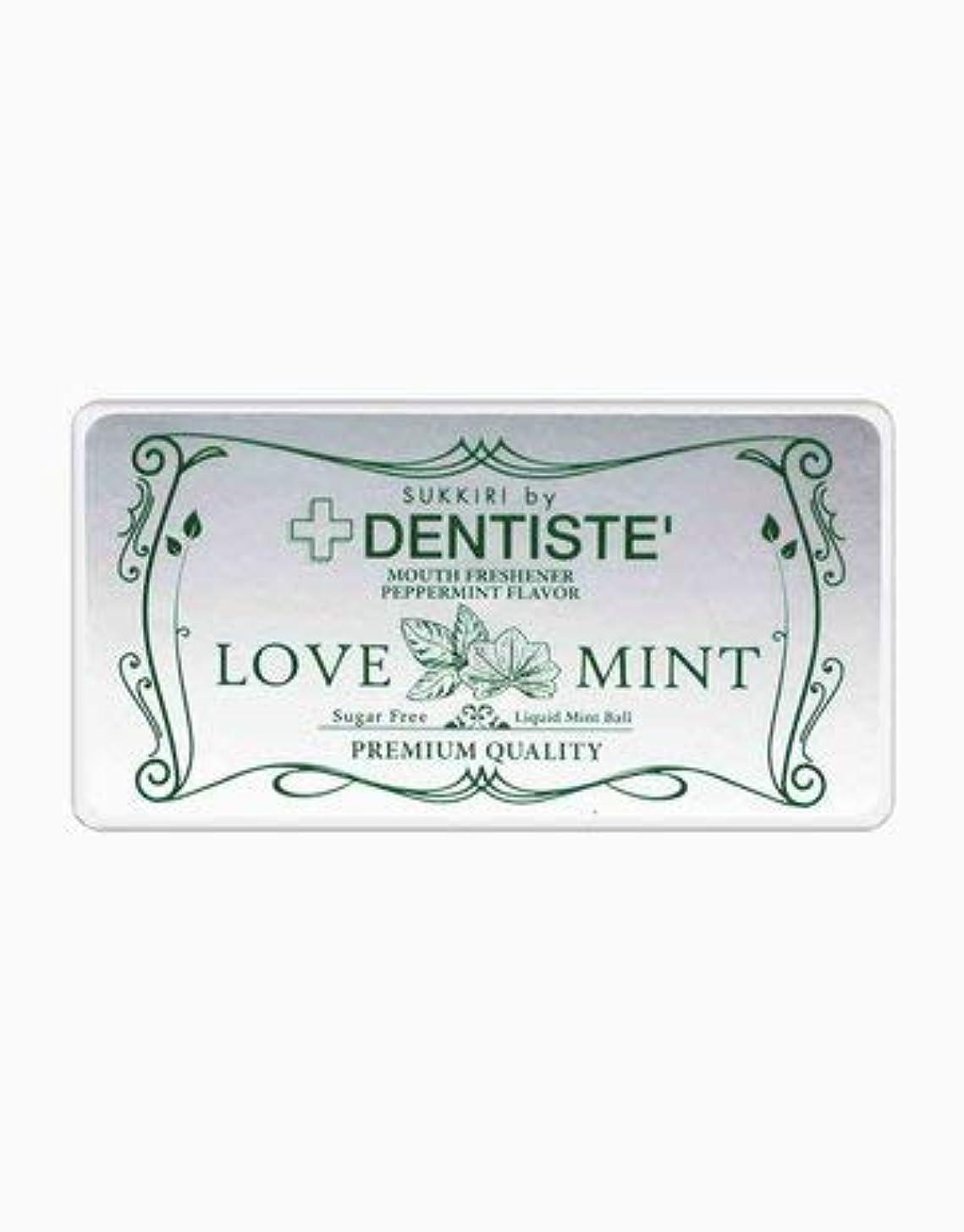 歯鎖むちゃくちゃ(デンティス) DENTISTE 口臭ケア カプセル 「LOVE MINT」 シュガーフリー デオドラント錠