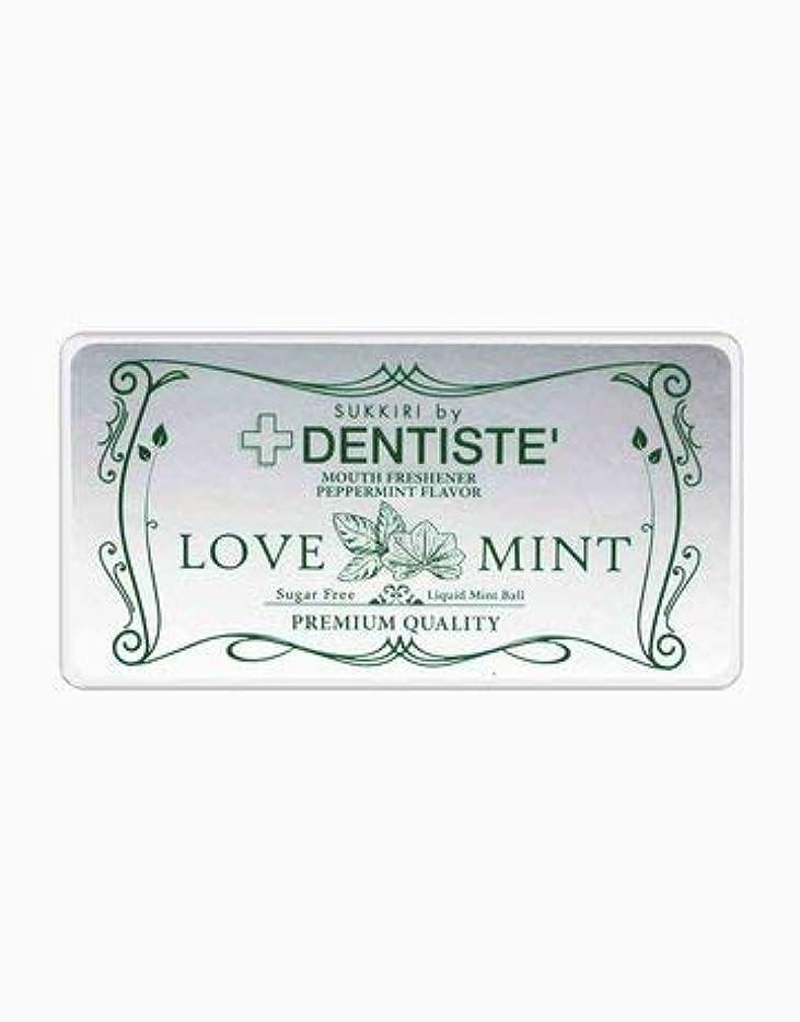 発明する満了感じる(デンティス) DENTISTE 口臭ケア カプセル 「LOVE MINT」 シュガーフリー デオドラント錠