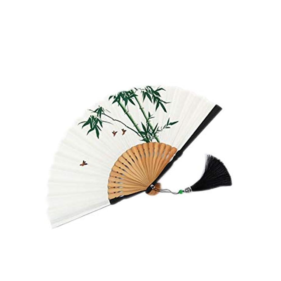 バルセロナ物理的な提供するKATH 扇子、中国のスタイル竹扇子、クラフトギフトファン