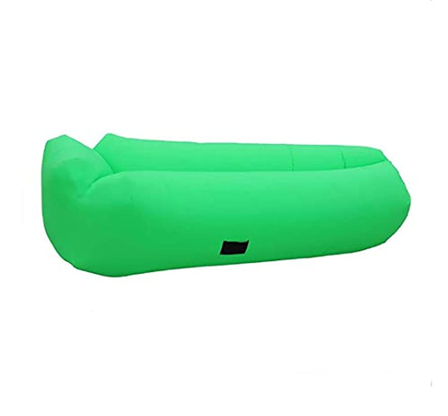 一般密度堤防キャンプ用ピクニックやビーチのための - 屋内/屋外の空気吹いているソファとヘッドレスト、キャリングポケットとポケットが付いている膨脹可能なソファのためのキャンプの膨脹可能なラウンジチェア。