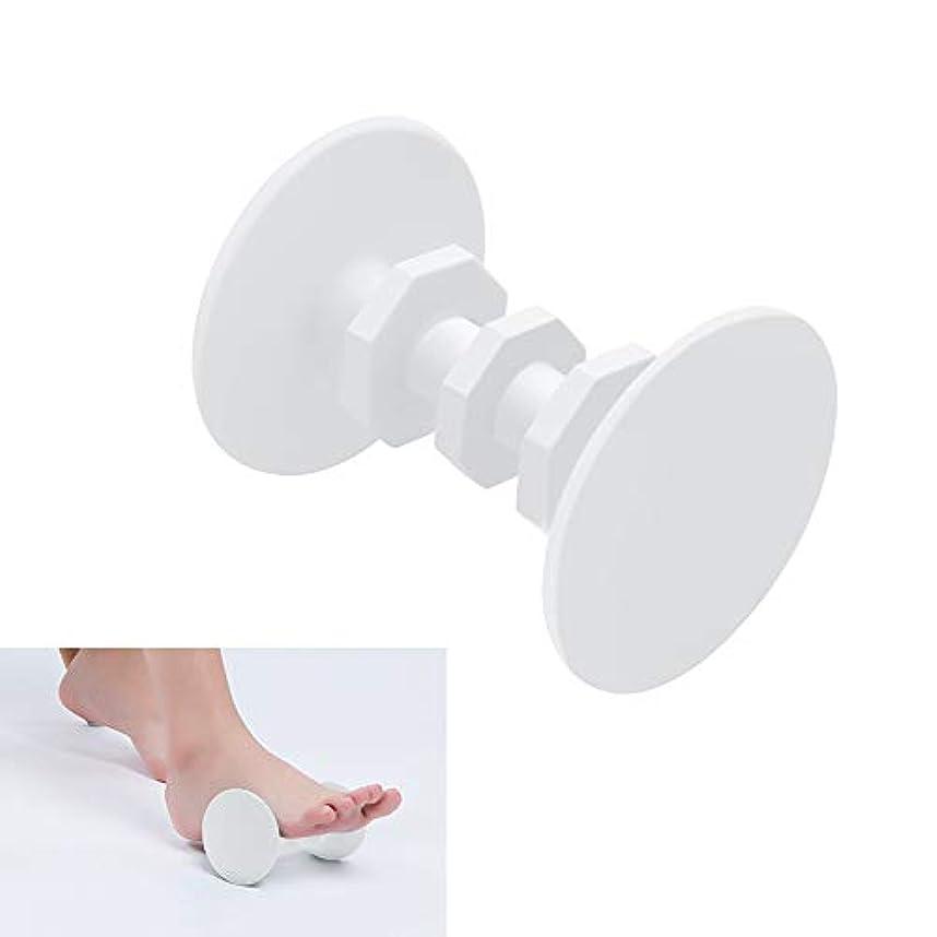 略奪気づくワックスフットマッサージローラー、フットペインホットコールドセラピー、足底筋膜炎、かかとの痛み、筋肉痛、トリガーポイント、背中、腕、首、肩、脚循環ローラー