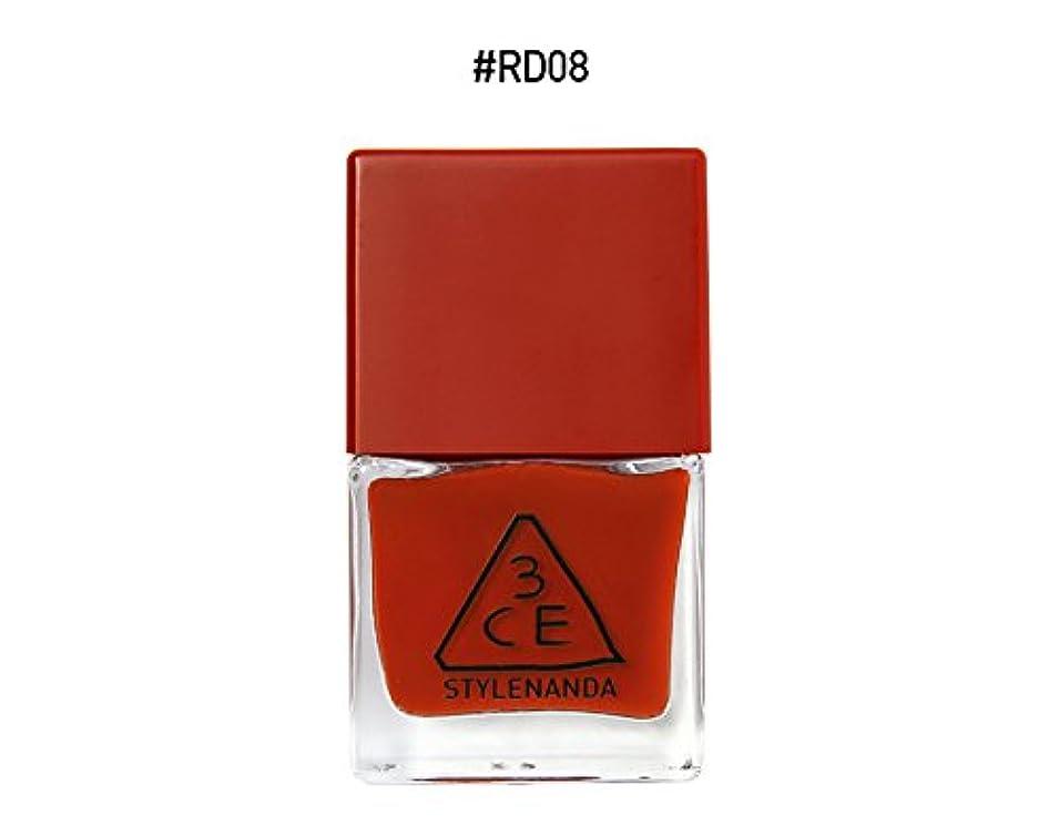 あえぎテープマオリ3CE RED RECIPE LONG LASTING NAIL LACQUER/レッドレシピ ロングラスティング ネイルラッカー (RD08) [並行輸入品]
