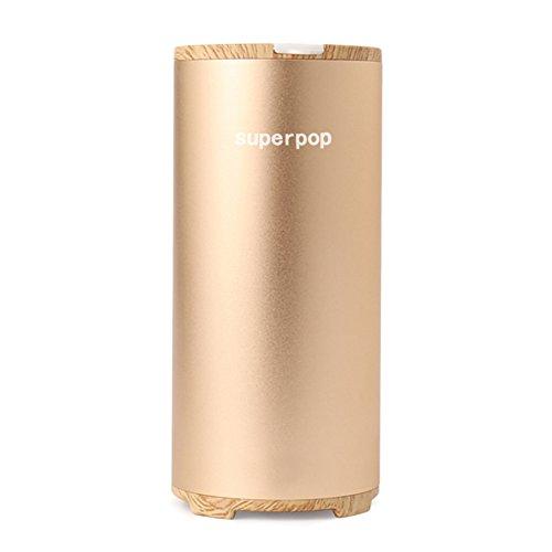 空気清浄機 オゾンイオン発生器 小型 USB充電式/リチウム電池給電 脱臭機...