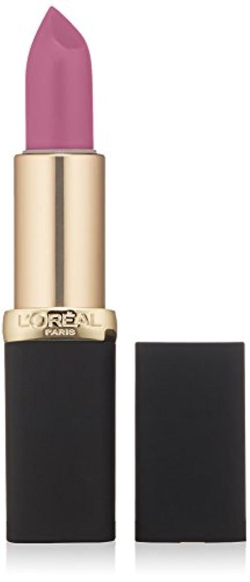 浪費家事をする要件L'Oréal Colour Riche Matte Lipcolour (711 AT THE DROP OF A MATTE)