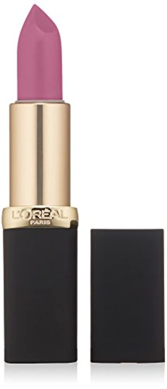 バーバラバラにする転倒L'Oréal Colour Riche Matte Lipcolour (711 AT THE DROP OF A MATTE)