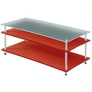 クアドラスパイア チェリー棚板+スリガラス棚板 シルバーポール QAVMS/ CHBG A