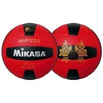 天皇杯・皇后杯公式試合球 MIKASA(ミカサ) バレーボール検定球5号 MVP220-RBK